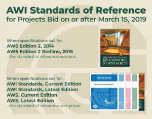 AWI Standards of Reference