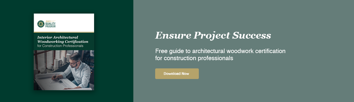 AWIQCP Guide to Architectural Woodwork Certification