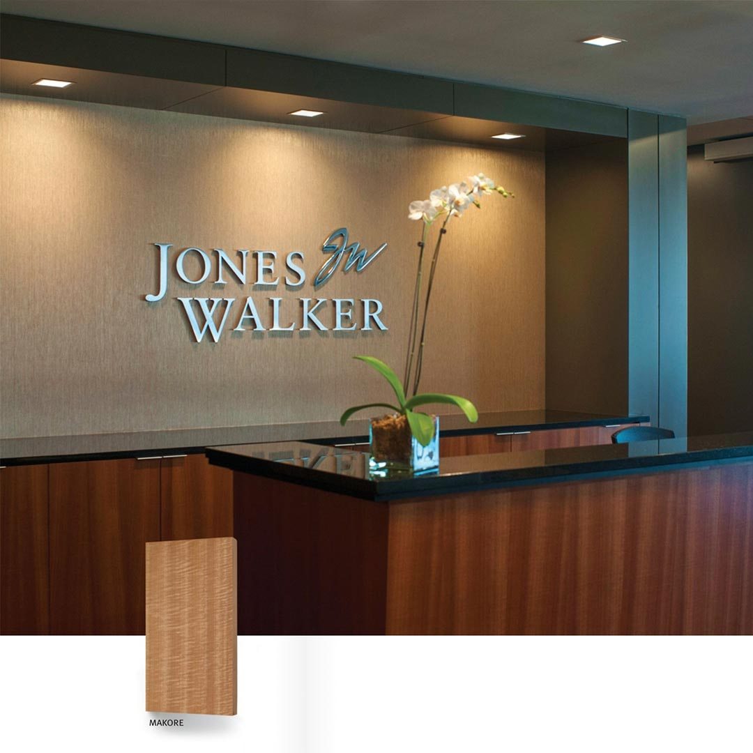AWI Design Solution Veneer Project Deas Millwork
