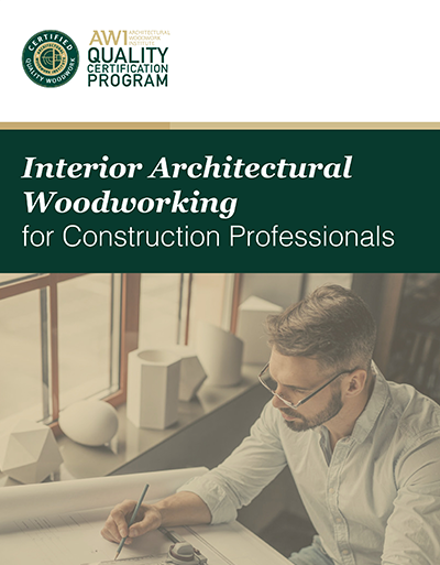 Interior Architectural Woodworking for Construction Professionals
