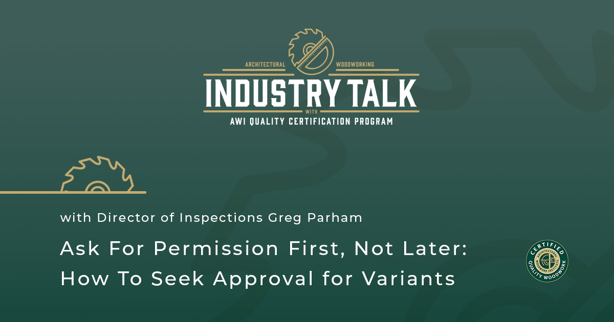 Ask For Permission First, Not Later: How To Seek Approval for Variants
