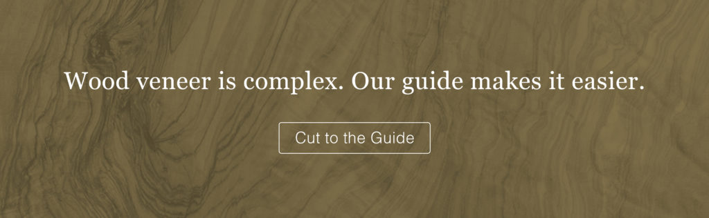 AWI QCP - Wood veneer is complex. Our guide makes it easier.