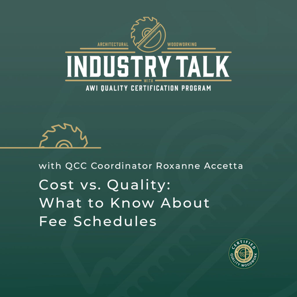 Clearing the Air On QCP Project Fees: An Interview with Roxanne Accetta